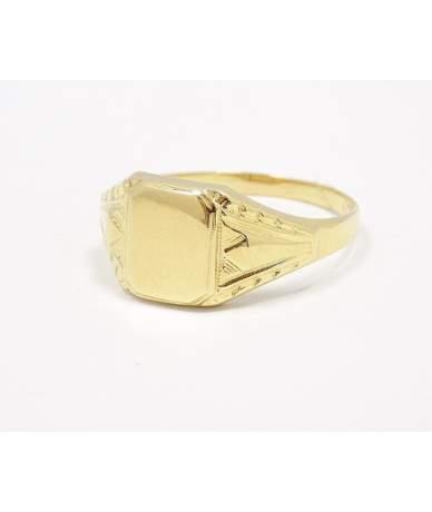 Sárga arany pecsétgyűrű