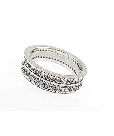 Ródimos ezüst karikagyűrű