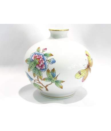 Herendi porzellan Vase mit Viktória Muster