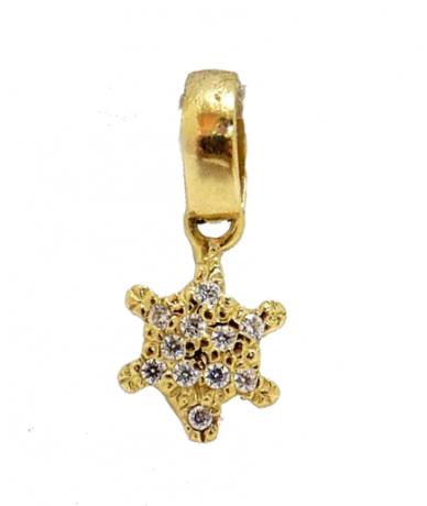 Arany csillag medál