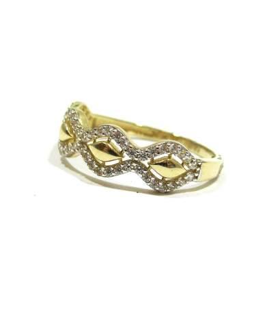 Köves női gyűrű