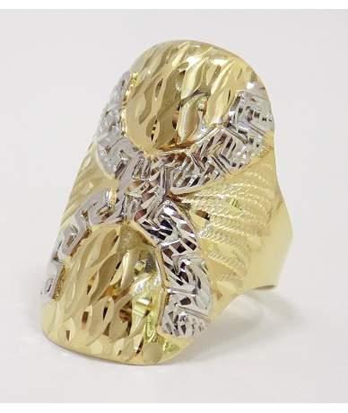 Arany kő nélküli gyűrű