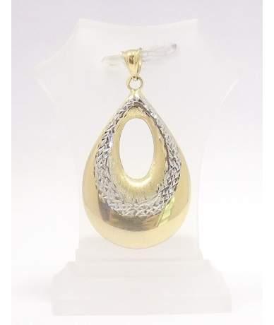 Arany csepp alakú medál