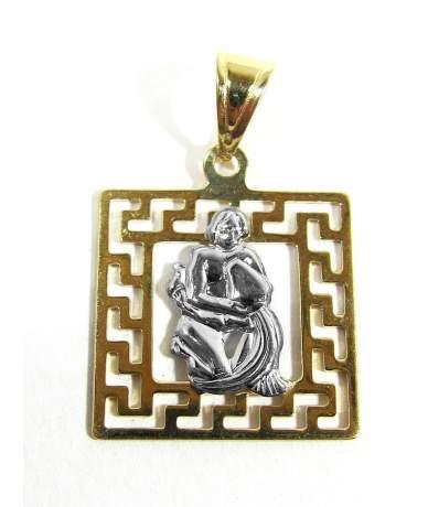 Arany horoszkóp medál