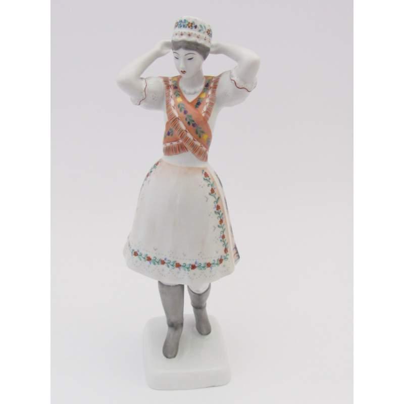 b46971d7be Hollóházi porcelán figura