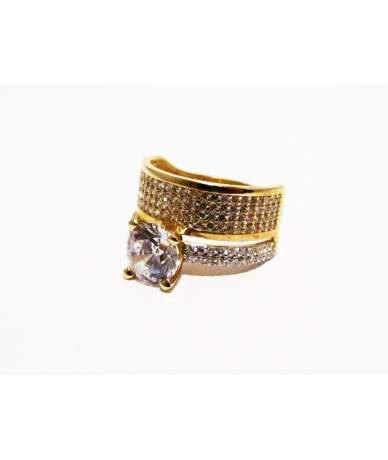 Arany gyűrű dupla szoliter