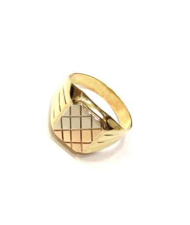 Arany férfi gyűrű