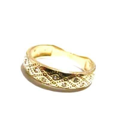 Arany gyűrű vésett