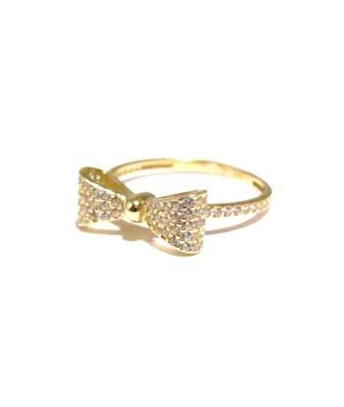Arany gyűrű masnis