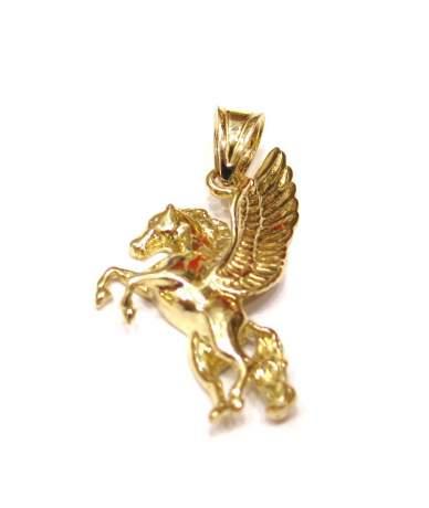 Pegasus förmige Anhänger aus Gelbgold