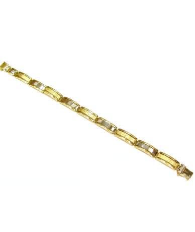 Herren Armkette aus Gelbgold