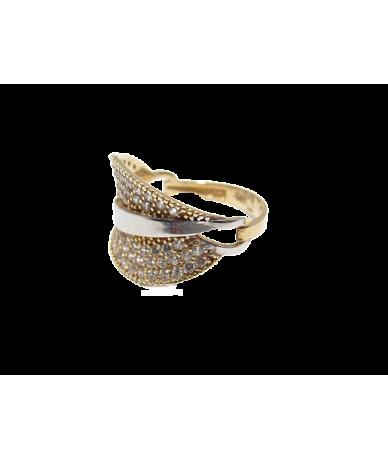 Arany női köves gyűrű