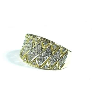 Női arany gyűrű