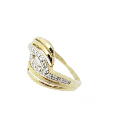 Arany kövesgyűrű
