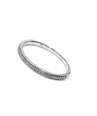 Brill köves gyűrű
