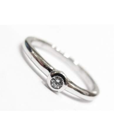 Brill köves női gyűrű