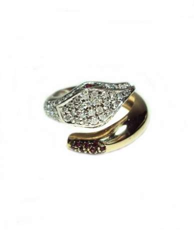 Arany köves gyűrű.