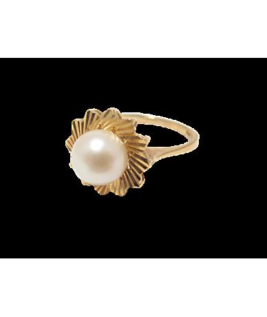 Arany női ,gyöngyös gyűrű