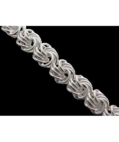 Ezüst rózsa karkötő