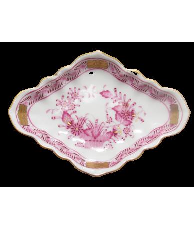Herendi porcelán,rombusz alakú tálka.