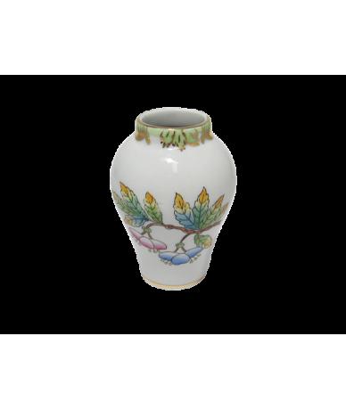 Herendi porcelán,Viktória mintás kis váza.