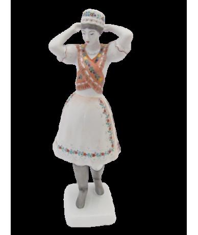 Hollóházi Porzellan Figur