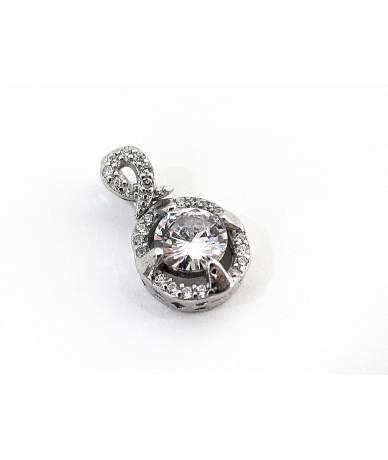Ródiumozott ezüst medál