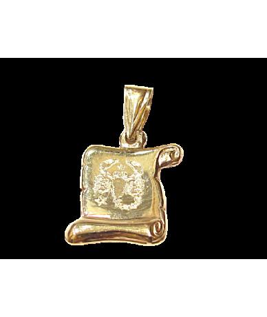 Arany horoszkopós medál