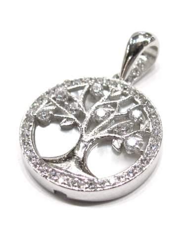Ezüst életfa medál