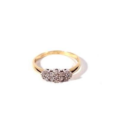 copy of Köves női arany gyűrű
