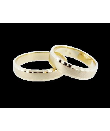 Arany karikagyűrűpár