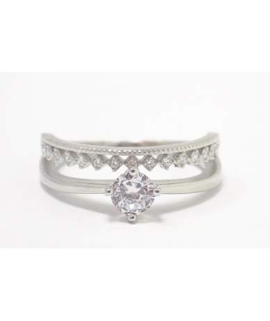 Köves ezüst gyűrű