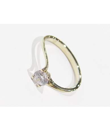 Női sárga arany gyűrű
