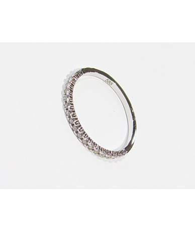 Női fehér arany gyűrű