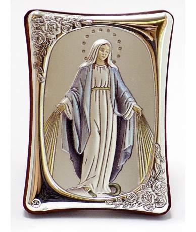 Kék ruhás Mária ikon