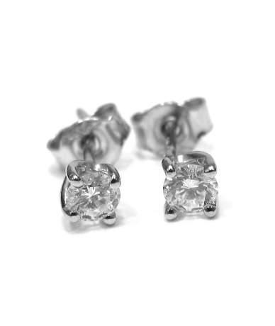 Gyémánt köves fülbevaló