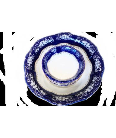 Zsolnay porcelán Pompadour...