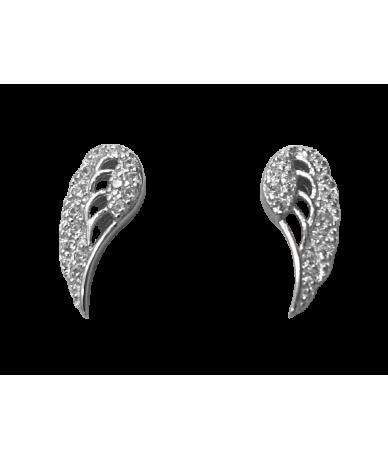 Ezüst női fülbevaló