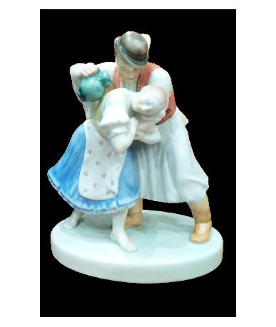 Herendi porcelán Pár