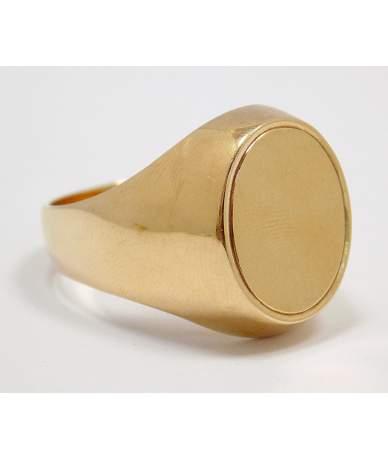 Vörös arany pecsétgyűrű