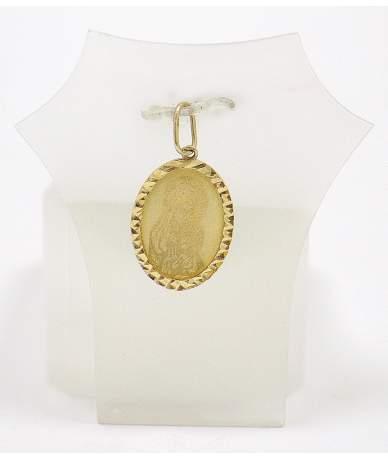 Sárga arany Mária medál