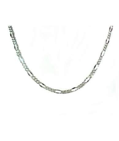 Ezüst Figaro lánc