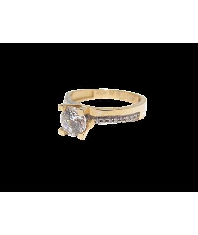 Arany női köves gyűrű.