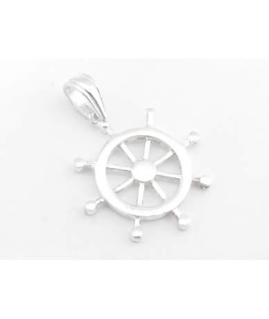 Ezüst hajókormány medál