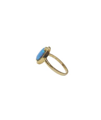 Női arany gyűrű Türkiz kővel