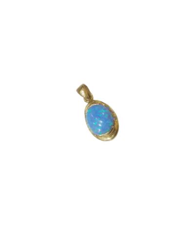 Női arany medál Türkiz kővel