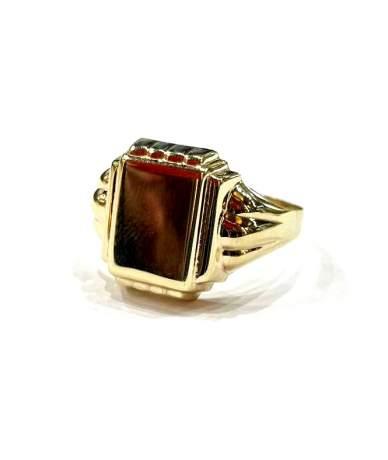 Arany férfi pecsétgyűrű.