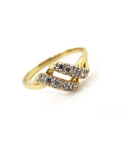 Sárga arany  gyűrű
