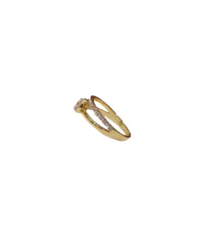 Arany köves gyűrű