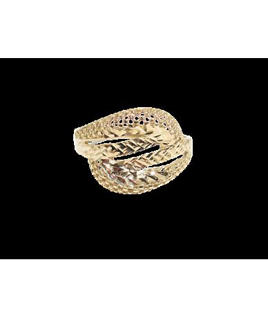 Sárga arany,vésett női gyűrű.